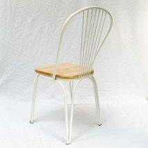 Bộ bàn Ines 2 ghế Marcello mặt gỗ