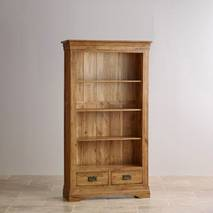 Kệ sách gỗ sồi Mỹ French