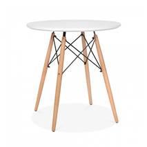 Bộ bàn tròn Eiffel trắng 2 ghế