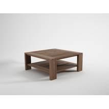 Bàn sofa vuông Dawson gỗ óc chó
