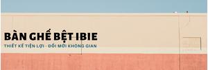 bàn ghế bệt ibie