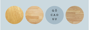 gỗ cao su là gì