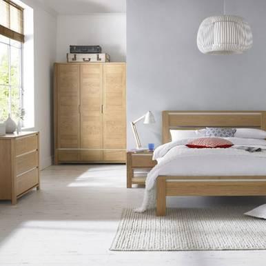 Bộ phòng ngủ gỗ sồi Casa