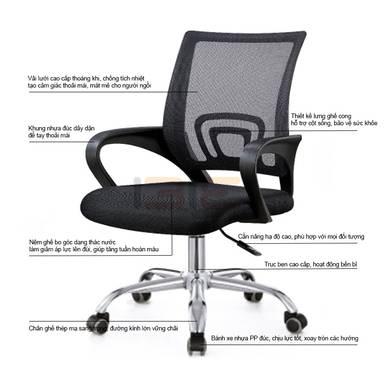 Mô tả ghế IB517 cao cấp