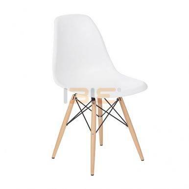 Ghế Eames chân gỗ nhiều màu