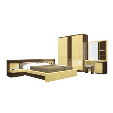 Bộ phòng ngủ Kata gỗ cao cấp