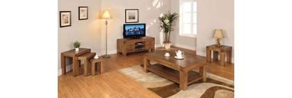 Nội thất gỗ sồi cho phòng khách