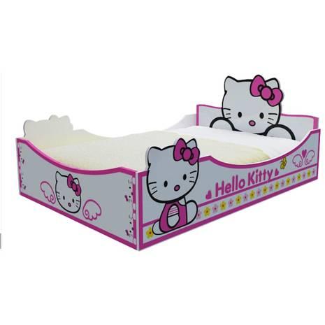Giường ngủ bé gái Hello Kitty 1,4m