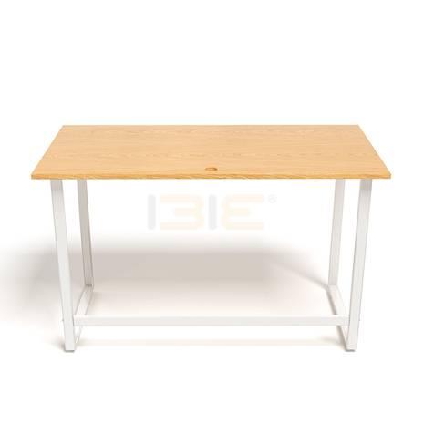 Bộ bàn Oak-F trắng vân sồi và ghế Eames chân gỗ