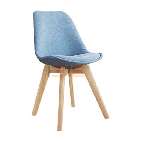 Ghế nệm Eames chân gỗ nhiều màu
