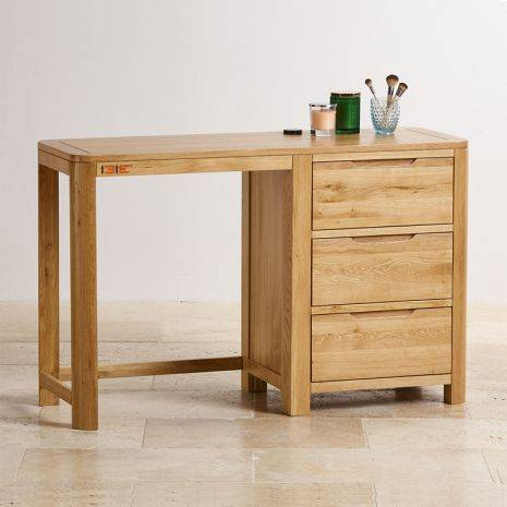 Bàn Romsey 3 ngăn kéo gỗ sồi