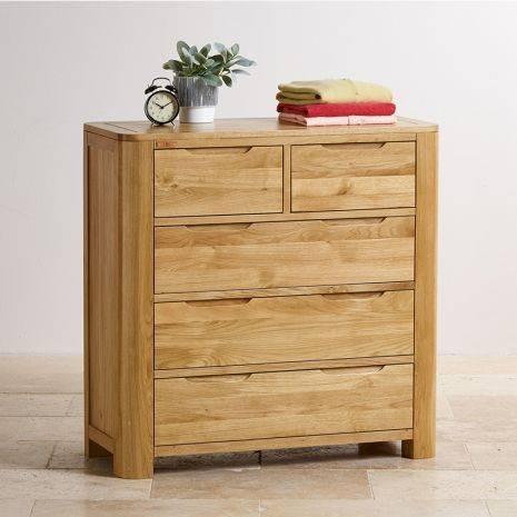 Tủ ngăn kéo Romsey 2+3 gỗ sồi