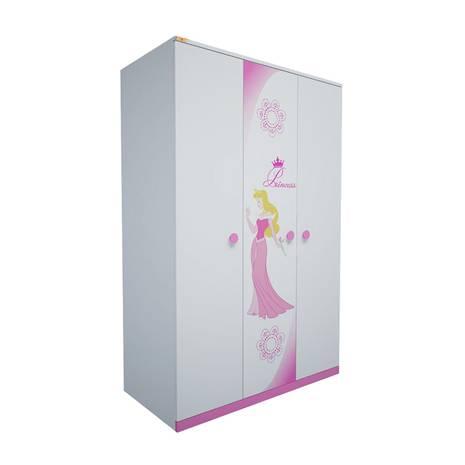 Tủ quần áo 3 cánh hình Công chúa 1m2