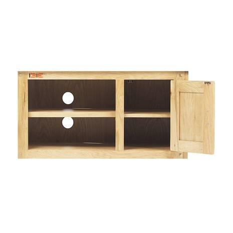 Tủ TV 1 cánh Rustic gỗ sồi