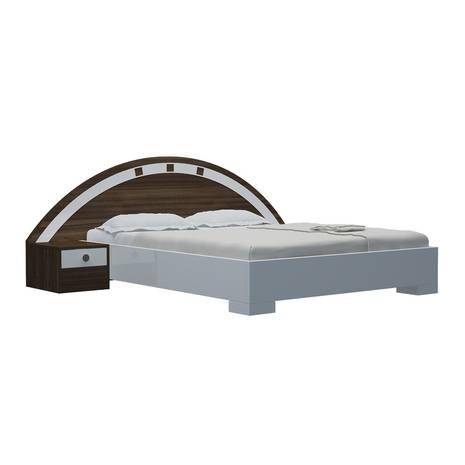 Bộ giường ngủ Kyoto trắng