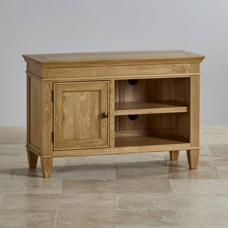 Tủ TV 1 cánh Classic gỗ sồi
