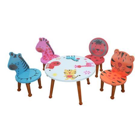 Bộ bàn ghế mầm non mẫu giáo hình thú rừng