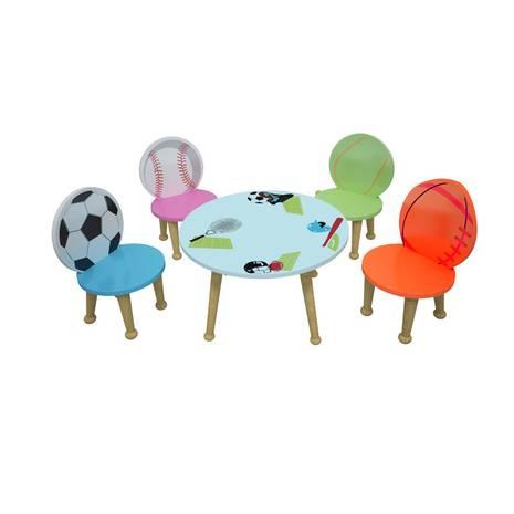 Bộ bàn ghế mầm non mẫu giáo hình thể thao