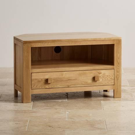 Tủ TV góc Oakdale gỗ sồi