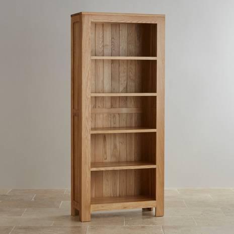 Tủ sách cao Oakdale gỗ sồi