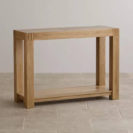 Bàn console Alto gỗ sồi