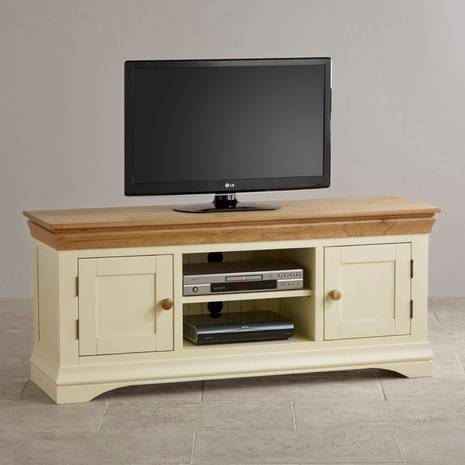 Tủ TV 2 cánh Country Cottage gỗ sồi