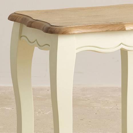 Ghế trang điểm Bella gỗ sồi