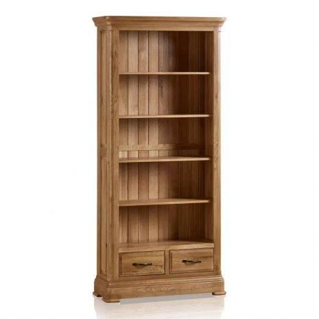 Tủ sách cao Canterbury gỗ sồi
