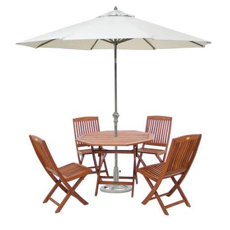 Bộ bàn Bali 4 ghế xếp Gapang