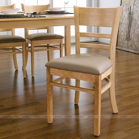 Bộ bàn ăn 4 ghế Ulsan màu tự nhiên 4