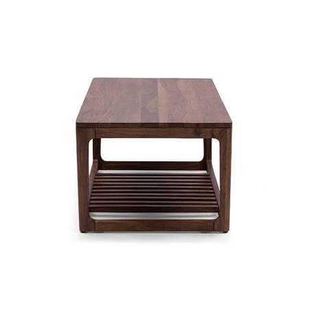 Bàn trà sofa Akita màu tự nhiên- cạnh