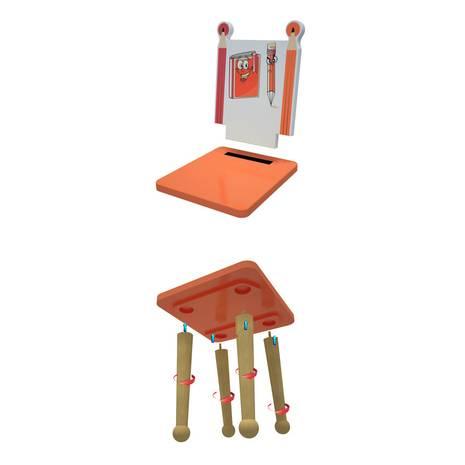 Ghế mầm non mẫu giáo bút chì tháo rời