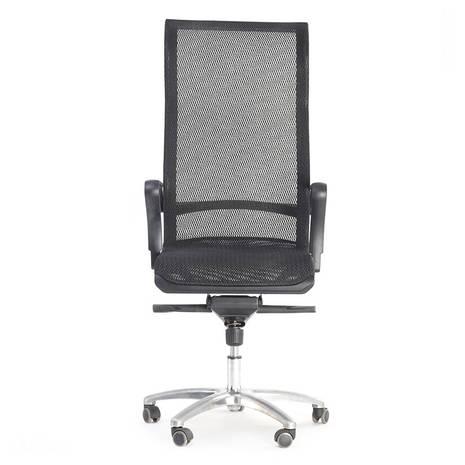 Ghế lưới văn phòng cao cấp Jupiter SB2000 Plus màu đen trước