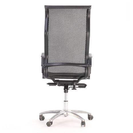 Ghế lưới văn phòng cao cấp Jupiter SB2000 màu đen sau