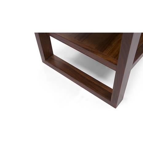 Kệ tivi Altura màu gỗ tự nhiên - cận cảnh chân