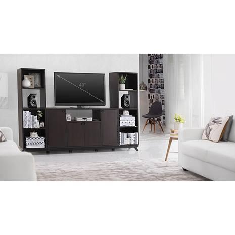 Tủ kệ tivi Veneto cao kèm 2 kệ cao - decor