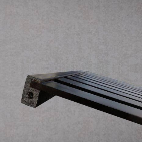 Kệ đa năng Rect 5 tầng 40 cm màu đen