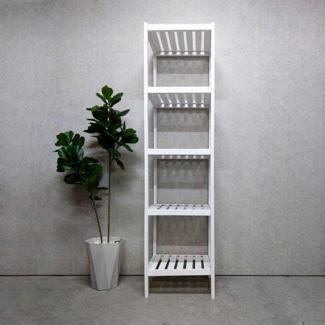 Kệ đa năng Rect 5 tầng 40 cm màu trắng