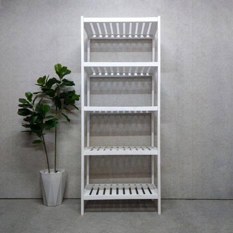 Kệ đa năng Rect 5 tầng 60 cm màu trắng