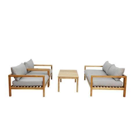 Bộ sofa Robin gỗ teak cao cấp 1