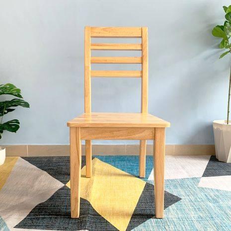 Ghế ăn Rec mặt gỗ phong cách Modern 1