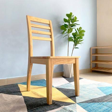 Ghế ăn Rec mặt gỗ phong cách Modern 2