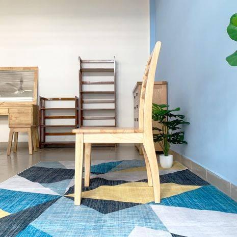 Ghế ăn Rec mặt gỗ phong cách Modern 3