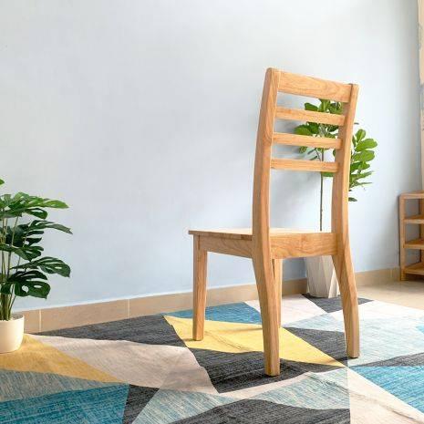 Ghế ăn Rec mặt gỗ phong cách Modern 4