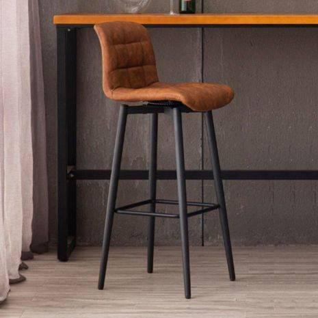 Ghế bar Mysen xoay 360 độ chân thép sơn tĩnh điện