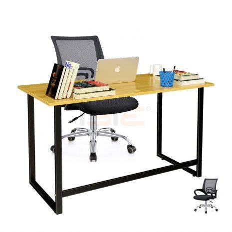 Bộ bàn Rec-F đen và ghế IB517