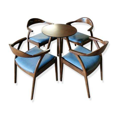 Bộ bàn tròn Como 2-4 ghế Kennedy