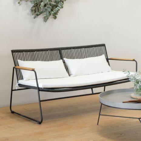 Sofa đơn Calder đan dây rope
