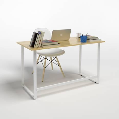 Bộ bàn Rec-F trắng và ghế Eames trắng 2