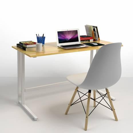 Bộ bàn làm việc Rec-U trắng
